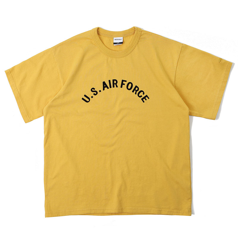 V.O.C TEE_AIR FORCE_YELLOW