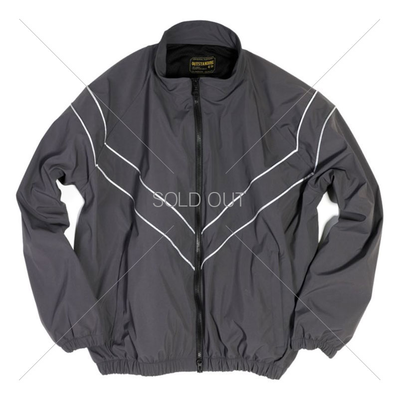 TRAINING NYLON JACKET [CHARCOAL] 아웃스탠딩 컴퍼니TRAINING NYLON JACKET [CHARCOAL]