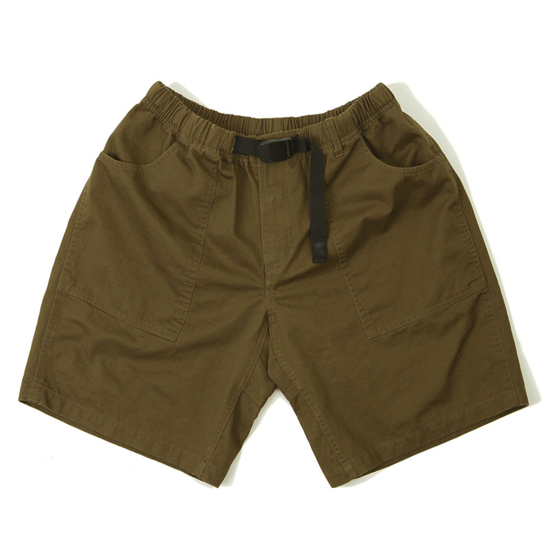 FATIGUE SHORT PANTS_BROWN