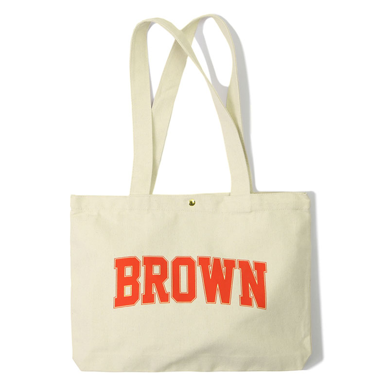 V.O.C COTTON ECO BAG_BROWN