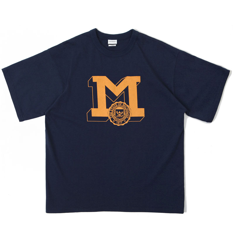 V.O.C TEE_MICHIGAN_NAVY