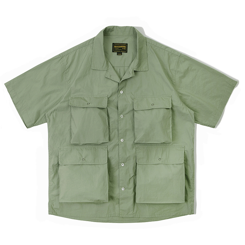 LIBERTY SHIRT_OLIVE GREEN