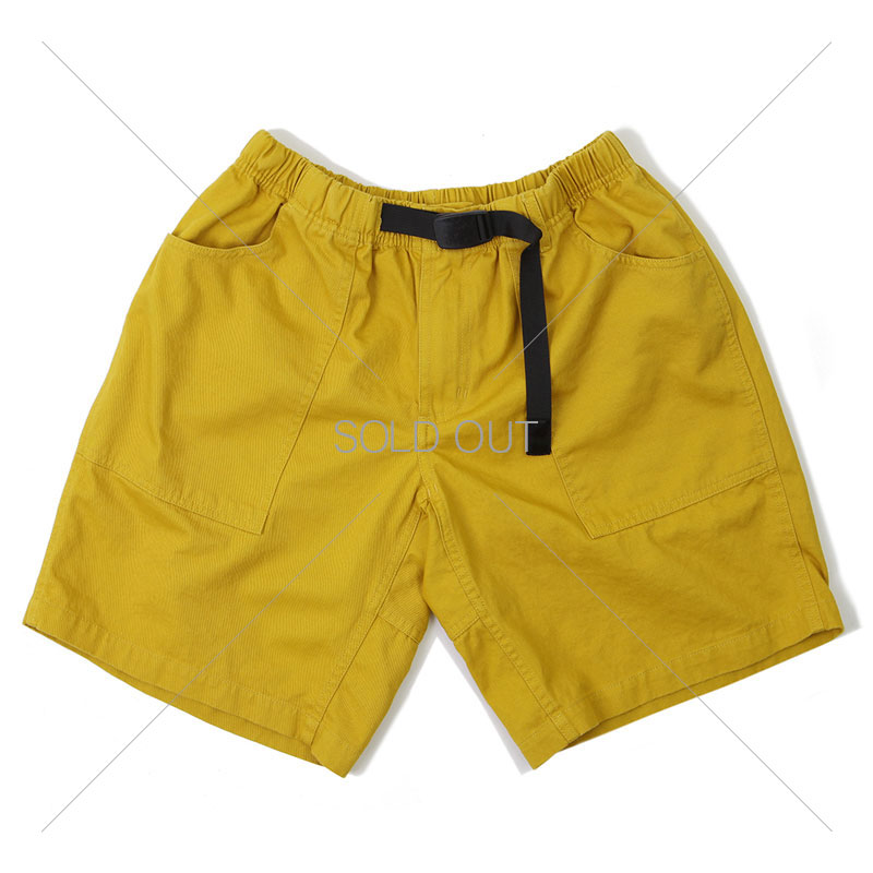 FATIGUE SHORT PANTS_MUSTARD