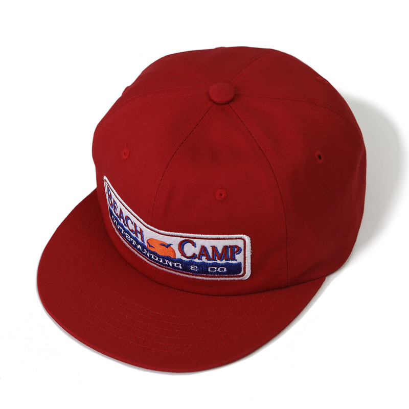 VINTAGE TRUCKER CAP_RED