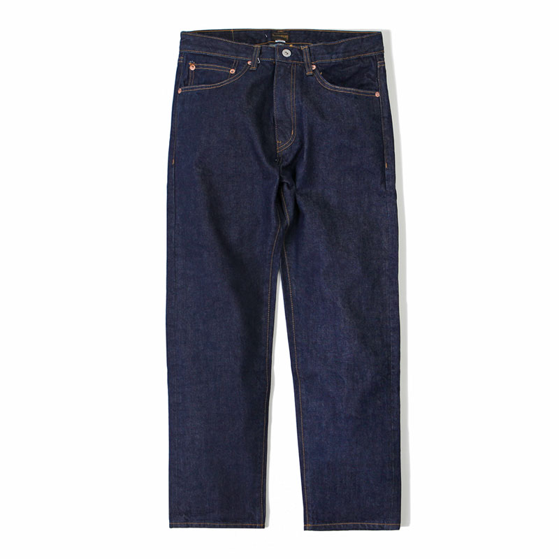 TAPERED FIT ONE WASH DENIM [INDIGO] 아웃스탠딩 컴퍼니TAPERED FIT ONE WASH DENIM [INDIGO]