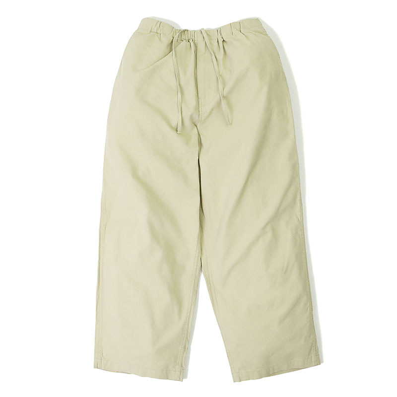LINEN EASY PANTS_BEIGE