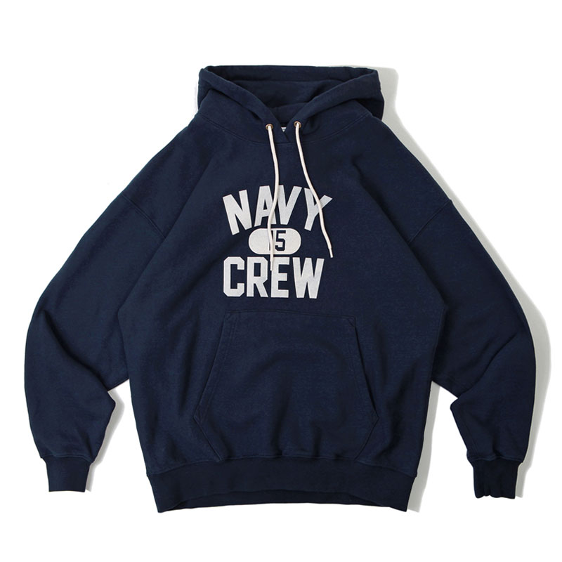 V.S.C HOOD SWEAT_NAVY CREW_NAVY