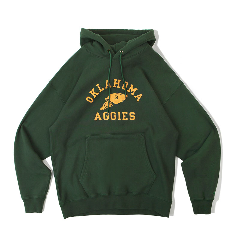 V.S.C HOOD SWEAT_OKLAHOMA_GREEN