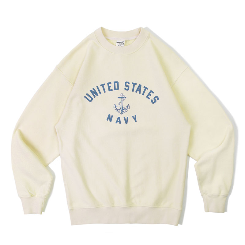 V.S.C SWEAT_U.S NAVY_OATMEAL
