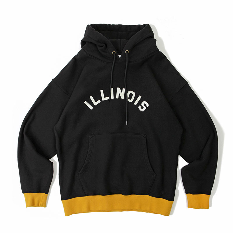 V.S.C HOOD SWEAT_ILLINOIS_BLACK