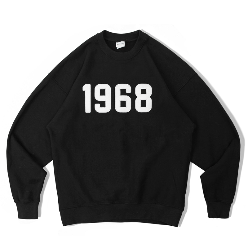 V.S.C SWEAT_1968_BLACK