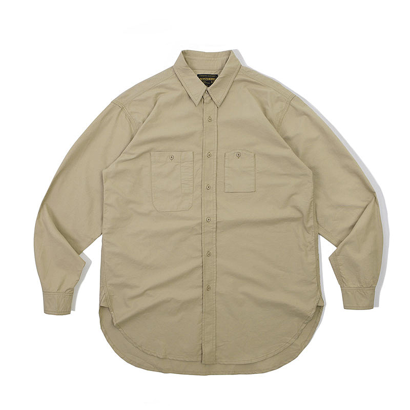 WORK SHIRT_BEIGE 아웃스탠딩 컴퍼니WORK SHIRT_BEIGE