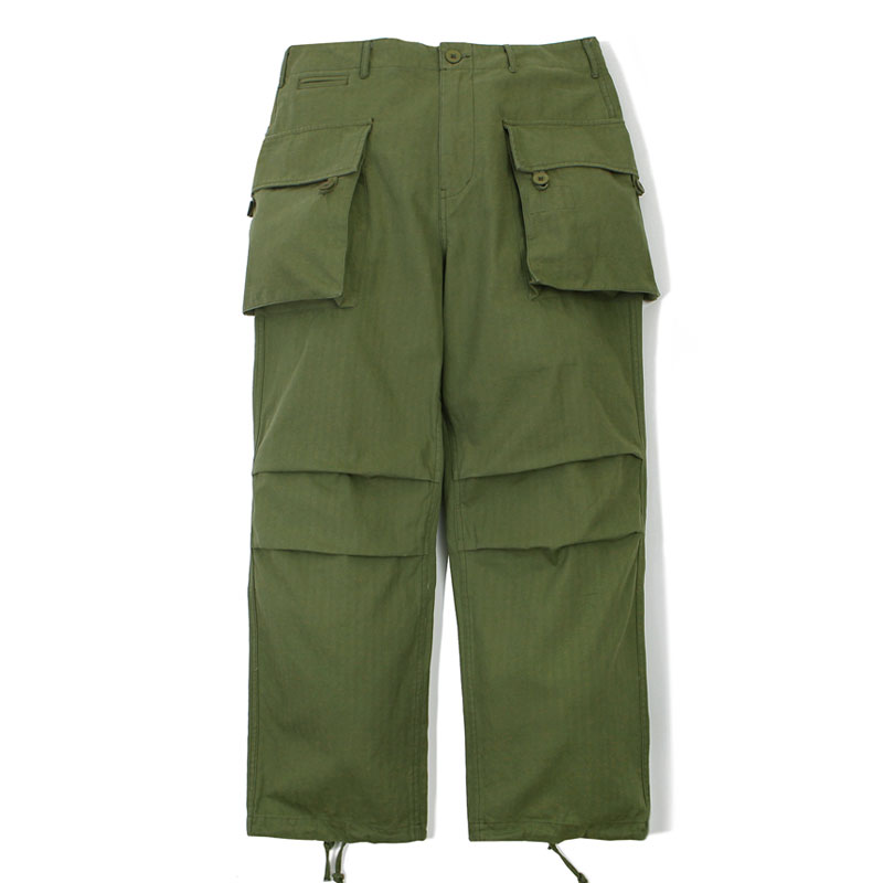 MIL MOTO COTTON PANTS_OLIVE GREEN