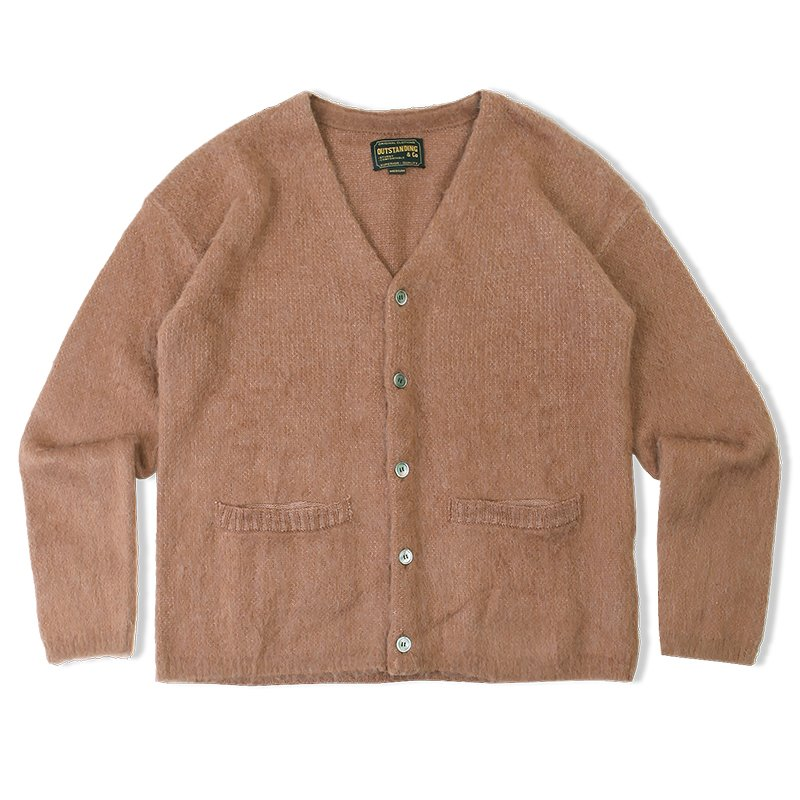 20F/W MOHAIR CARDIGAN_BROWN