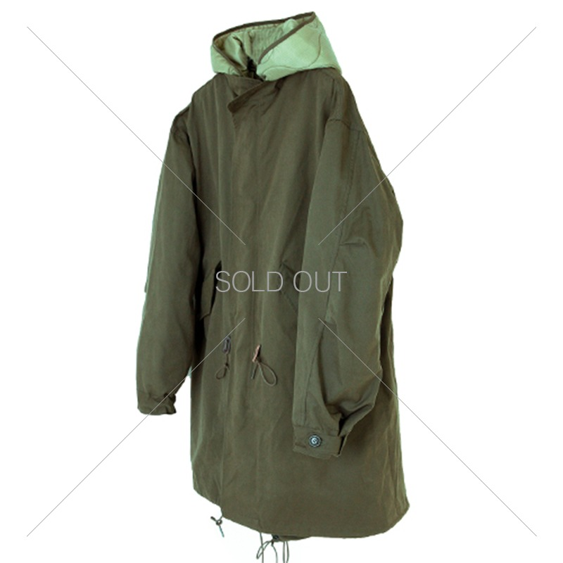 19FW FISHTAIL PARKA [OLIVE GREEN] 아웃스탠딩 컴퍼니19FW FISHTAIL PARKA [OLIVE GREEN]