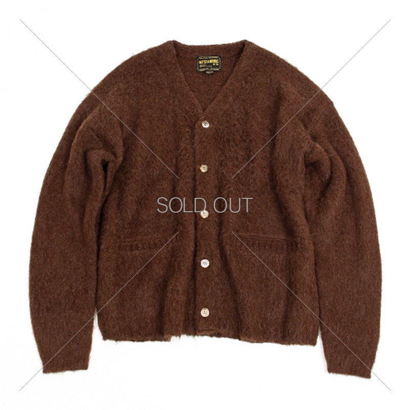 19FW MOHAIR CARDIGAN [BROWN] 아웃스탠딩 컴퍼니19FW MOHAIR CARDIGAN [BROWN]