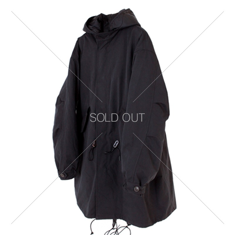 19FW FISHTAIL PARKA [BLACK] 아웃스탠딩 컴퍼니19FW FISHTAIL PARKA [BLACK]