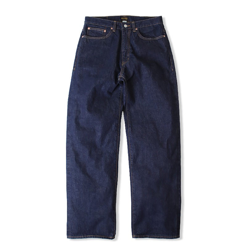 WIDE SELVEDGE ONE WASH DENIM [INDIGO] 아웃스탠딩 컴퍼니WIDE SELVEDGE ONE WASH DENIM [INDIGO]