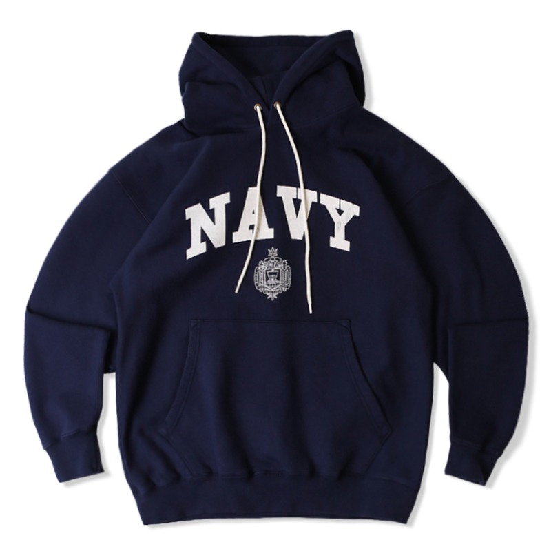 V.S.C HOOD SWEAT NAVY_NAVY