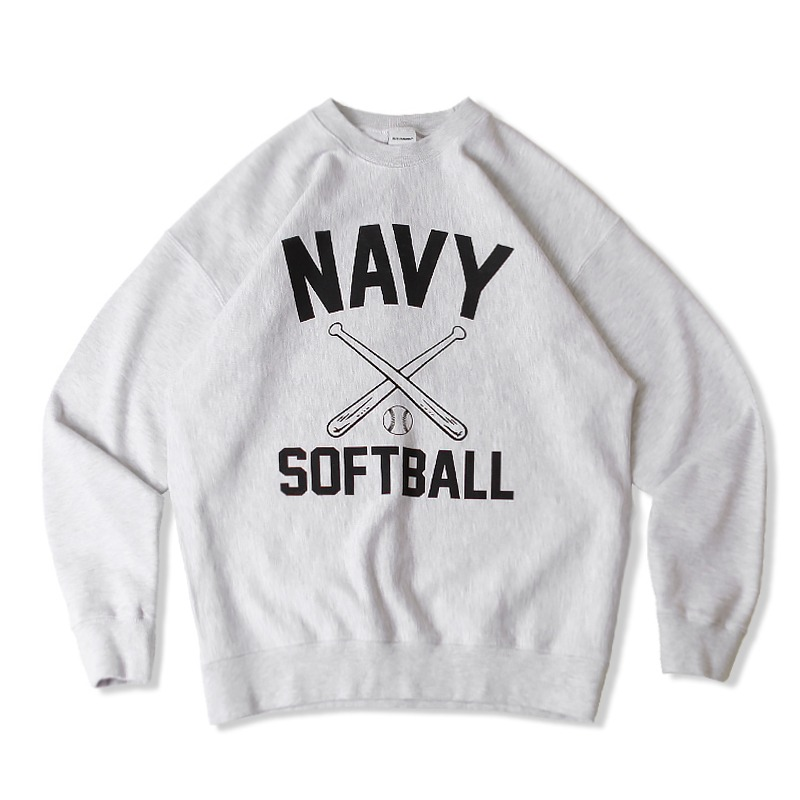 V.S.C SWEAT SOFTBALL_1%MELANGE GRAY