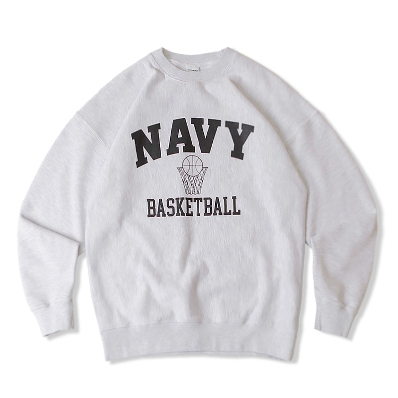 V.S.C SWEAT BASKETBALL_1%MELANGE GRAY