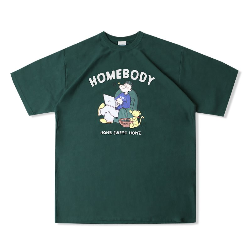 V.O.C TEE (HOMEBODY)_GREEN