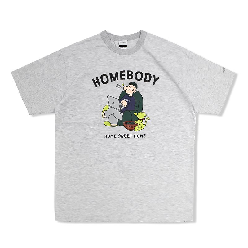 V.O.C TEE (HOMEBODY)_1%MELAGE GRAY