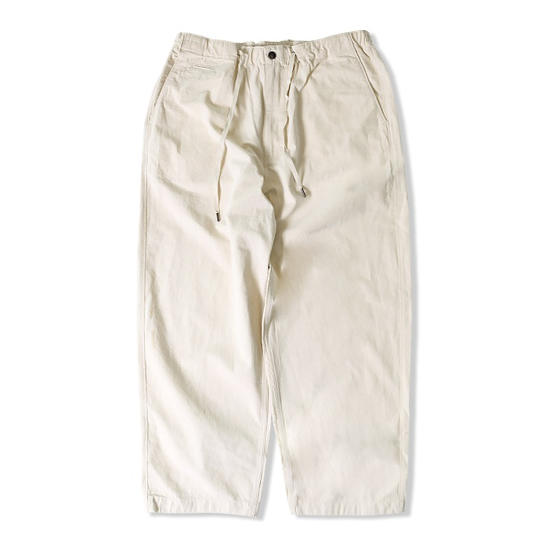 21S/S RIP STRING PANTS_OATMEAL