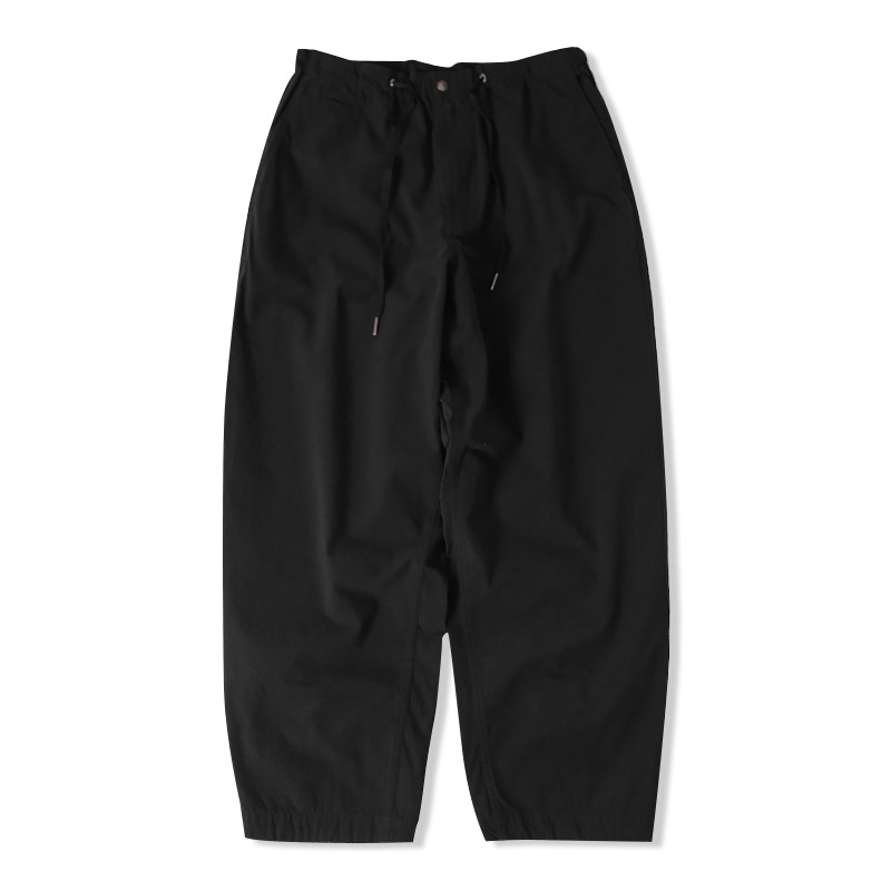 21S/S RIP STRING PANTS_BLACK