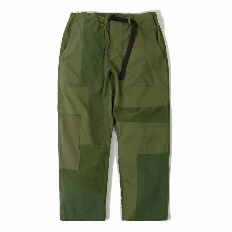 REMAKE PANTS_OLIVE GREEN 아웃스탠딩 컴퍼니REMAKE PANTS_OLIVE GREEN