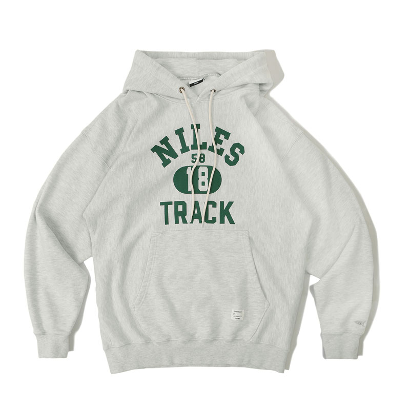 V.S.C HOOD SWEAT_NILES_1% MELANGE GRAY 아웃스탠딩 컴퍼니V.S.C HOOD SWEAT_NILES_1% MELANGE GRAY