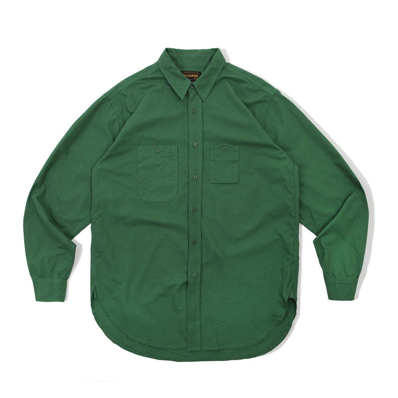 WORK SHIRT_GREEN 아웃스탠딩 컴퍼니WORK SHIRT_GREEN