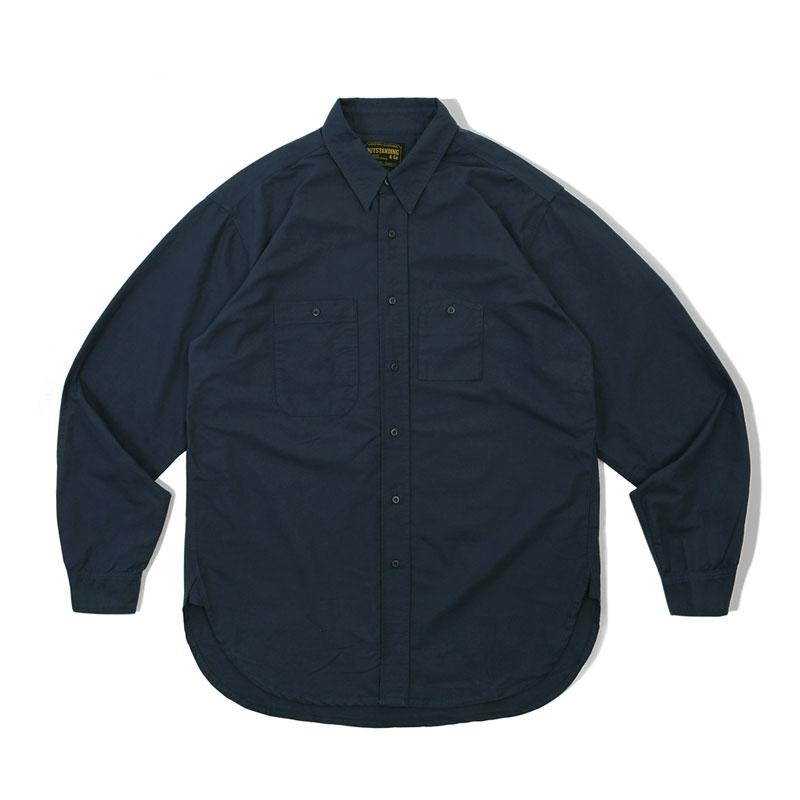 WORK SHIRT_NAVY 아웃스탠딩 컴퍼니WORK SHIRT_NAVY