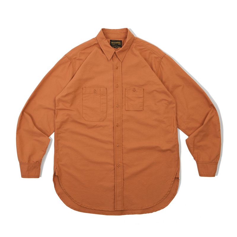 WORK SHIRT_ORANGE 아웃스탠딩 컴퍼니WORK SHIRT_ORANGE