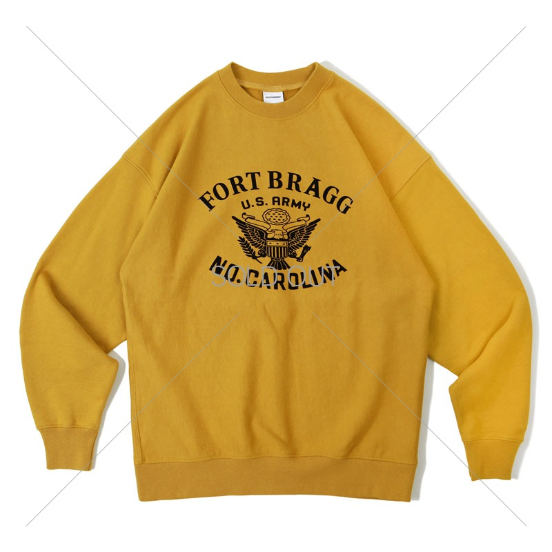 V.S.C SWEAT_FORT_MUSTARD 아웃스탠딩 컴퍼니V.S.C SWEAT_FORT_MUSTARD