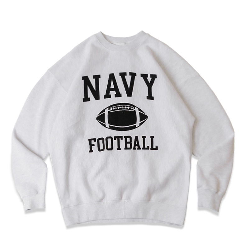 V.S.C SWEAT FOOTBALL_1%MELANGE GRAY