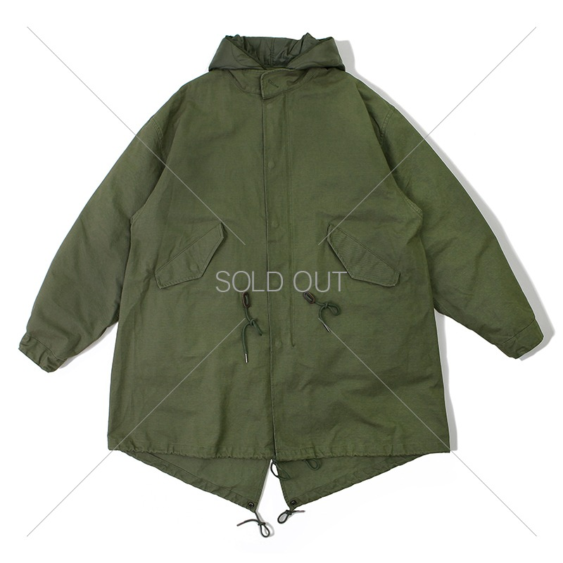 20 F/W FISHTAIL  PARKA_OLIVE GREEN 아웃스탠딩 컴퍼니20 F/W FISHTAIL  PARKA_OLIVE GREEN