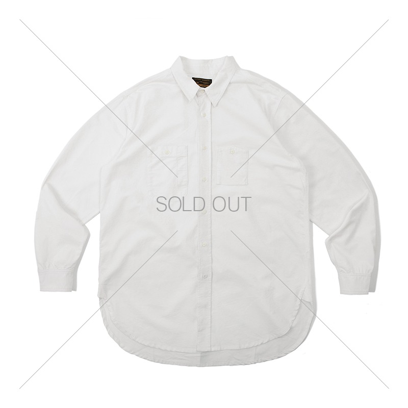 WORK SHIRT_OFF WHITE 아웃스탠딩 컴퍼니WORK SHIRT_OFF WHITE