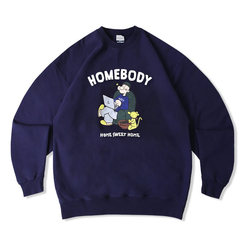 V.S.C SWEAT (HOMEBODY)_NAVY