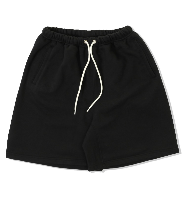 SWEAT SHORT PANTS_BLACK