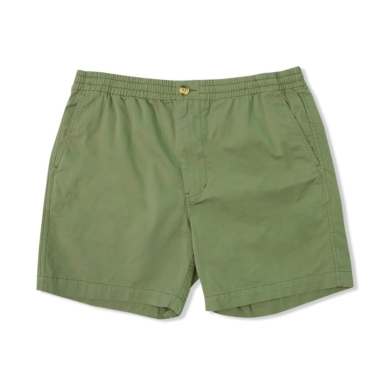 COTTON CHINO SHORT_OLIVE GREEN