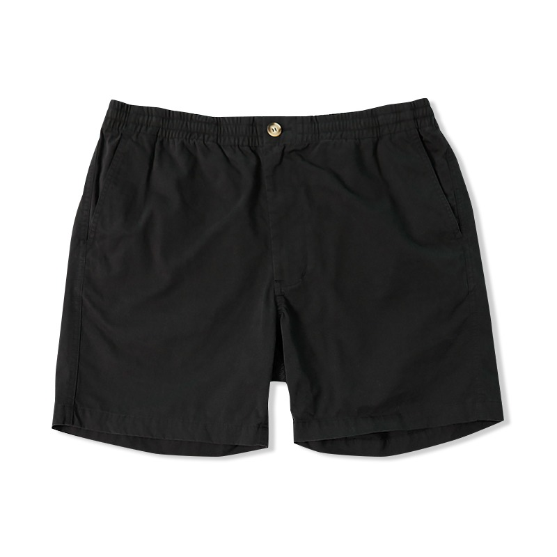 COTTON CHINO SHORT_BLACK