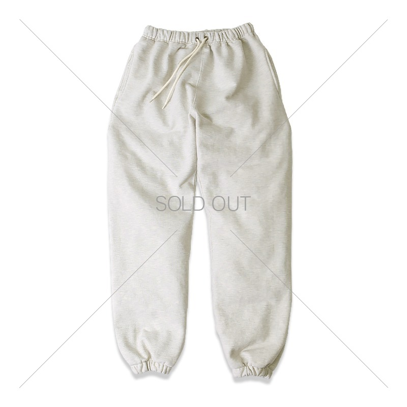 REVERSE HEAVY SWEAT PANTS _1% OATMEAL